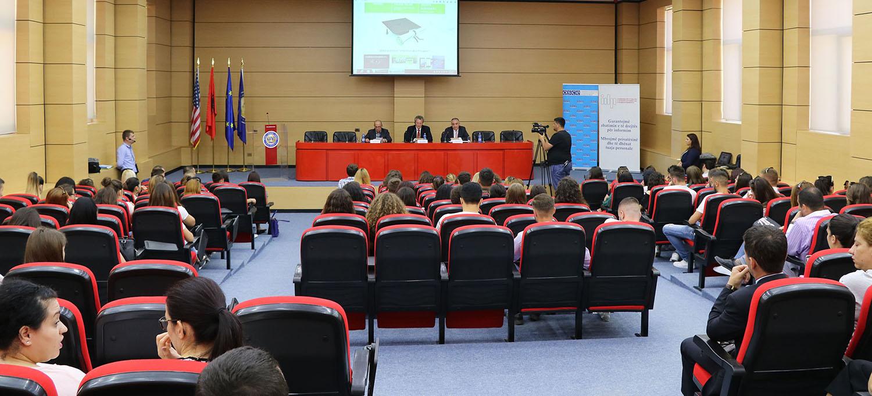 """Zhvillohet në Universitetin e Vlorës """"Ismail Qemali"""" Shkolla Verore  """"Informim dhe Privatësi"""""""