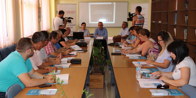 Konferenca rajonale në Sarandë për të drejtën e informimit