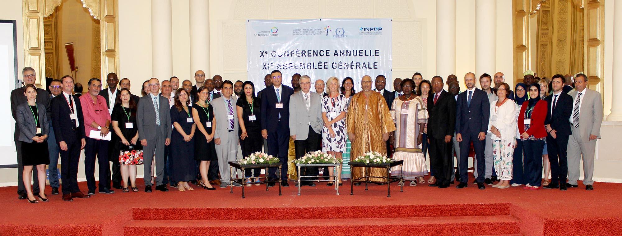 10ème Conférence et 11ème Assemblée générale de l'Association francophone des autorités de protection des données personnelles (AFAPDP)