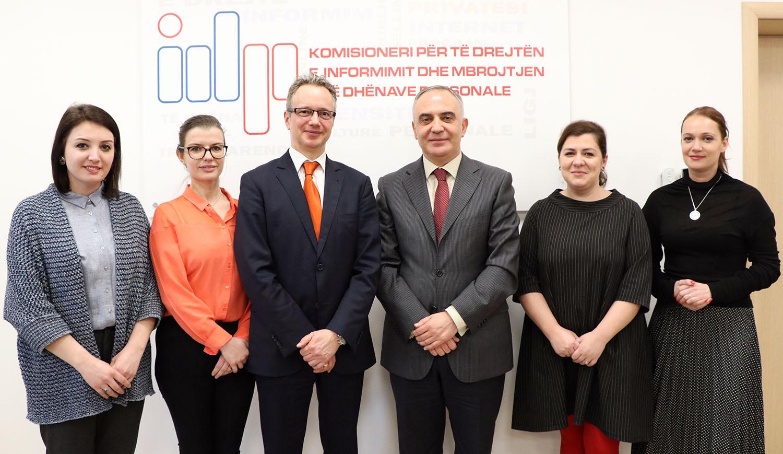 Bashkëpunimi me Zyrën e Këshillit të Evropës