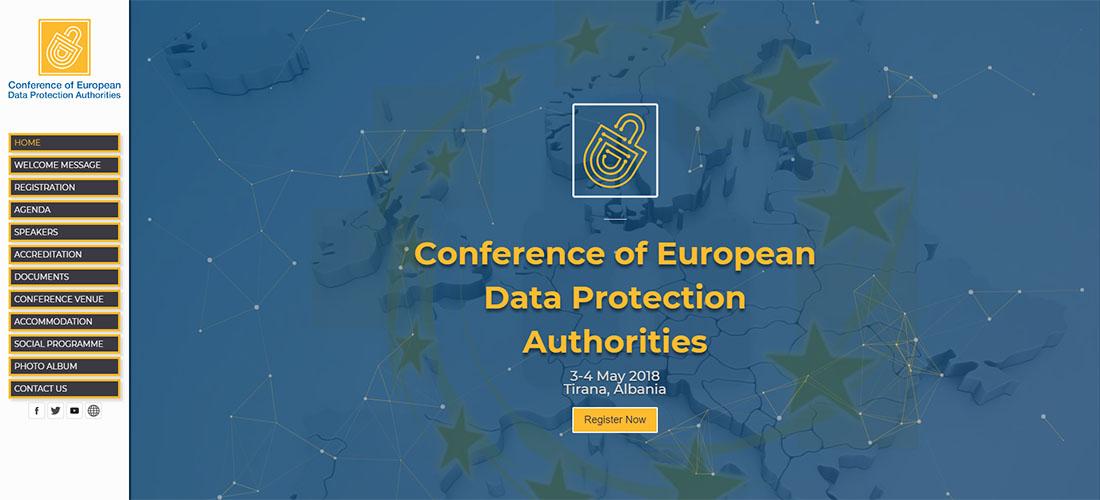 Konferenca Evropiane e Mbrojtjes së të Dhënave