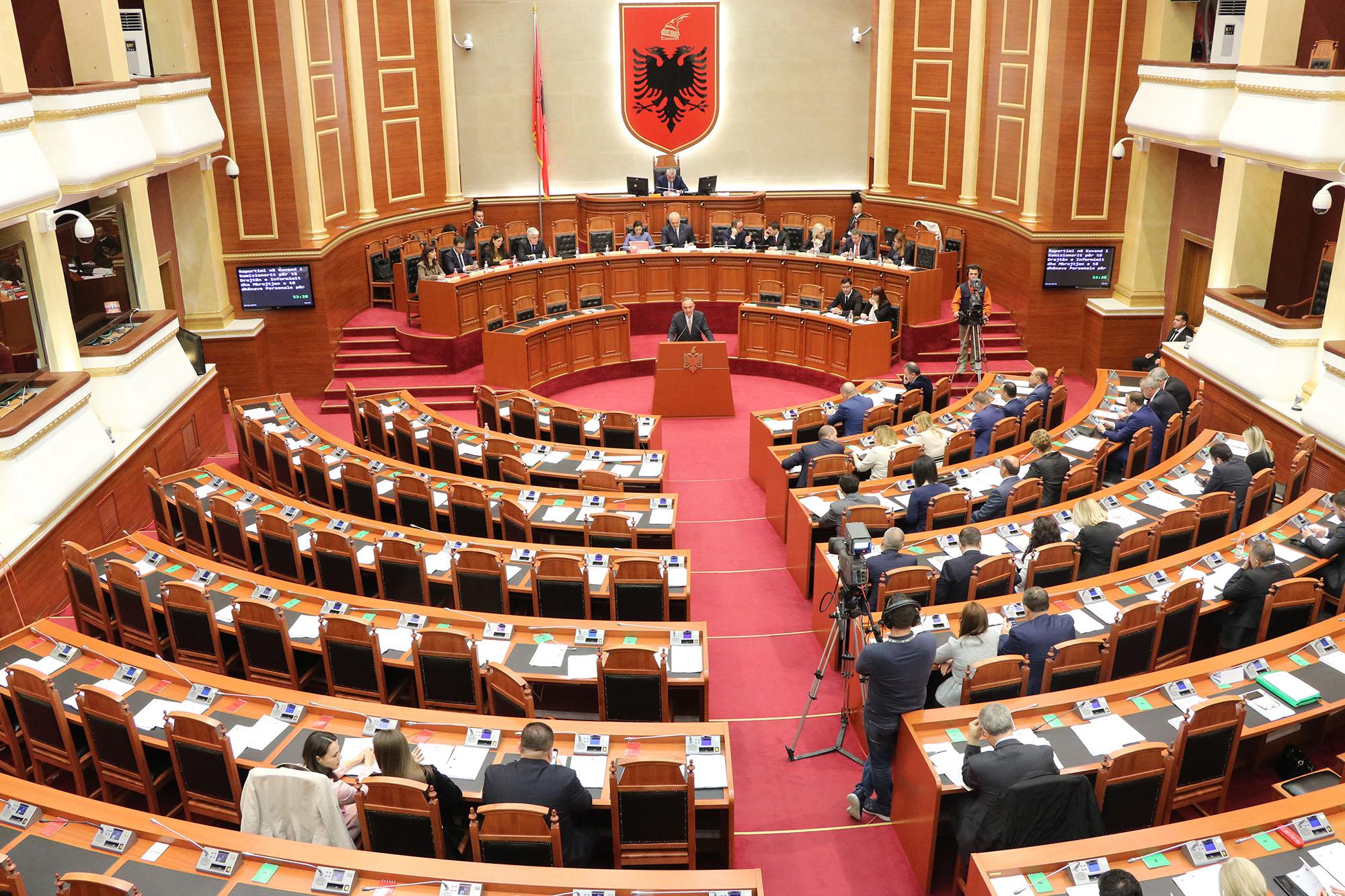 Kuvendi i Shqipërisë miratoi Rezolutën për vlerësimin e punës të Zyrës së Komisionerit për vitin 2017