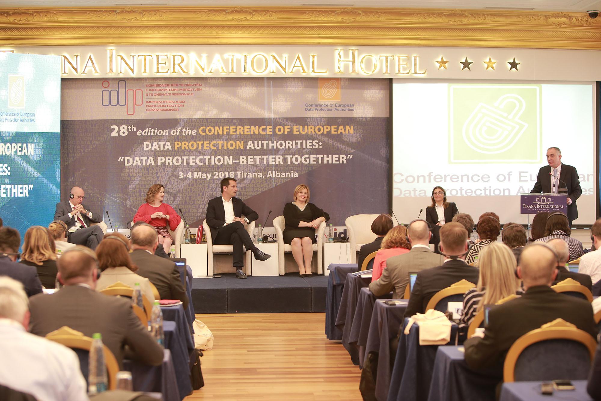 Conference of European Data Protection Authorities – Tirana 2018