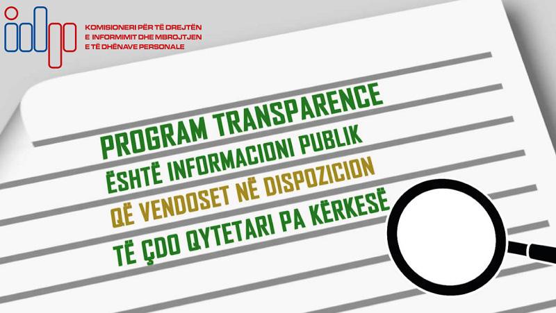 Projekt Programi Model i Transparencës për organet e vetëqeverisjes vendore