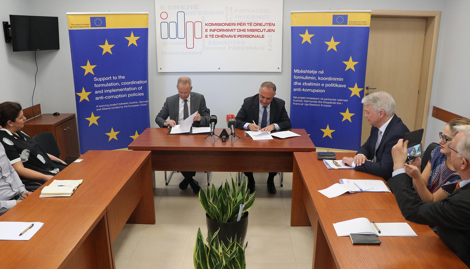 Marrëveshje bashkëpunimi me Autoritetin homolog të Landit gjerman  Baden-Württemberg