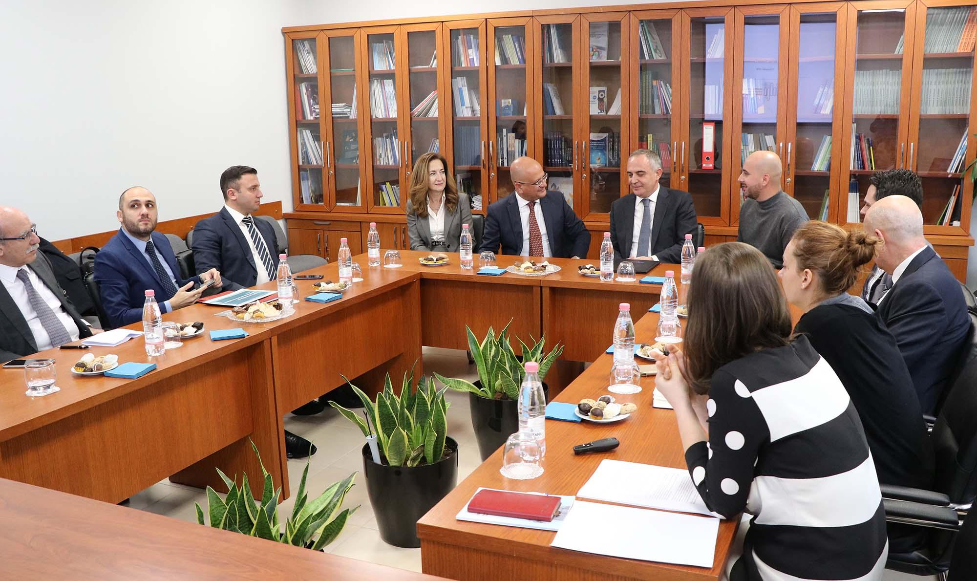 Bashkëpunim dhe shkëmbim eksperience me institucione të Republikës së Maltës