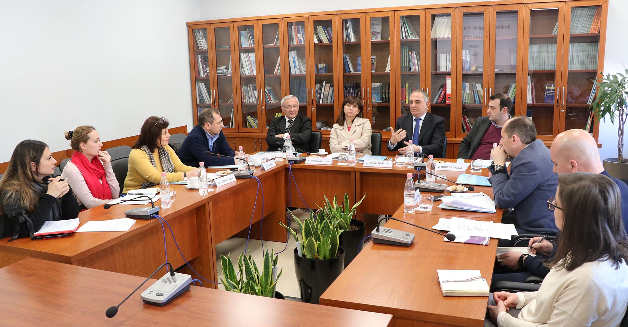 ICDPPC – Tirana 2019: première réunion du Comité consultatif national