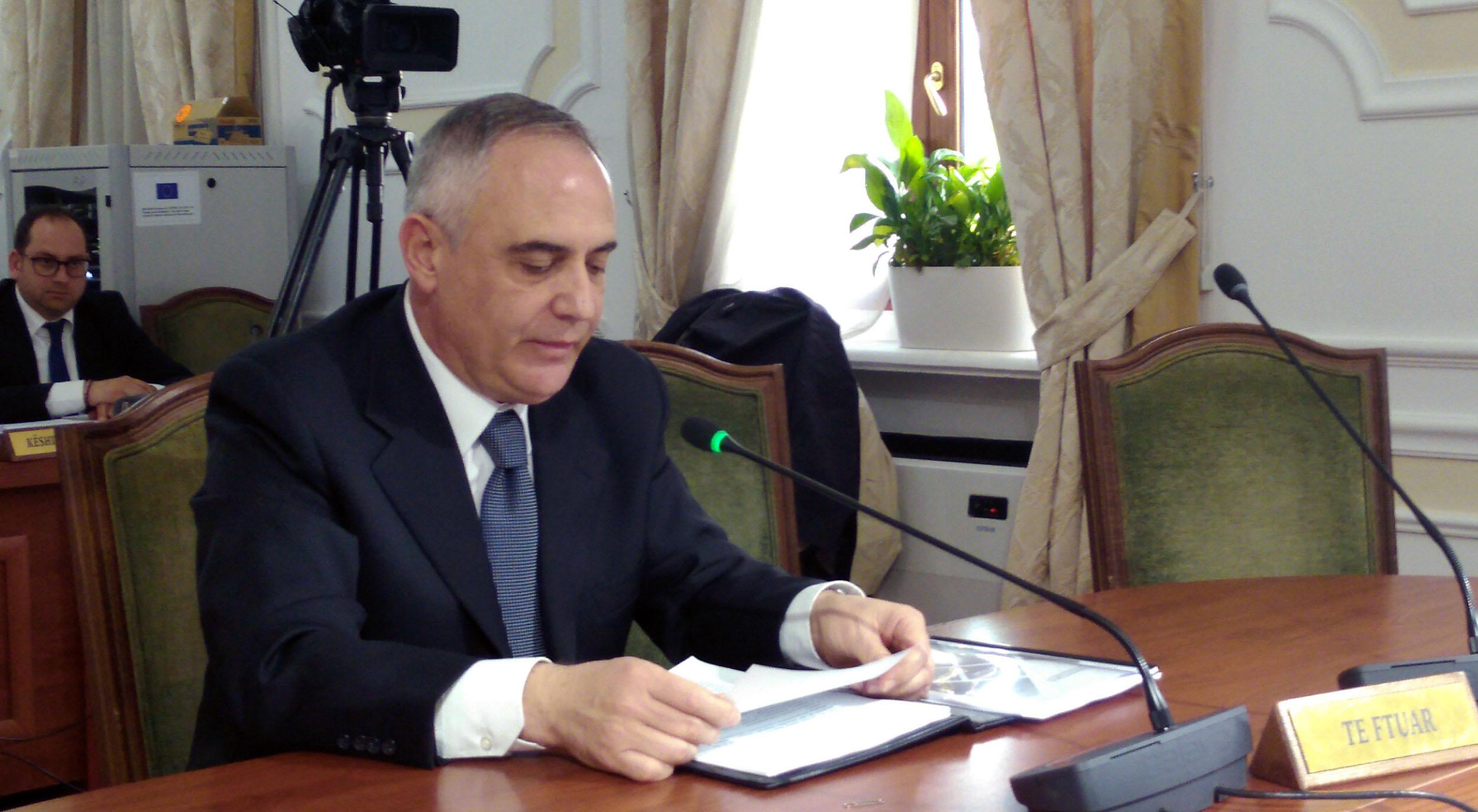 Komisioneri prezanton Raportin Vjetor 2018 në Kuvend