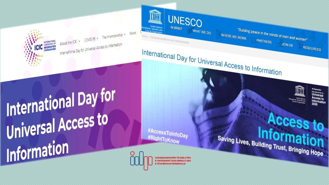 Dita e të Drejtës për Informim, deklaratë e Konferencës Ndërkombëtare të Komisionerëve të Informimit