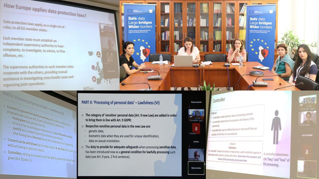 Webinar-i IV i Projektit të Binjakëzimit, prezantimi i ligjit të ri për mbrojtjen e të dhënave personale në sektorin shëndetësor