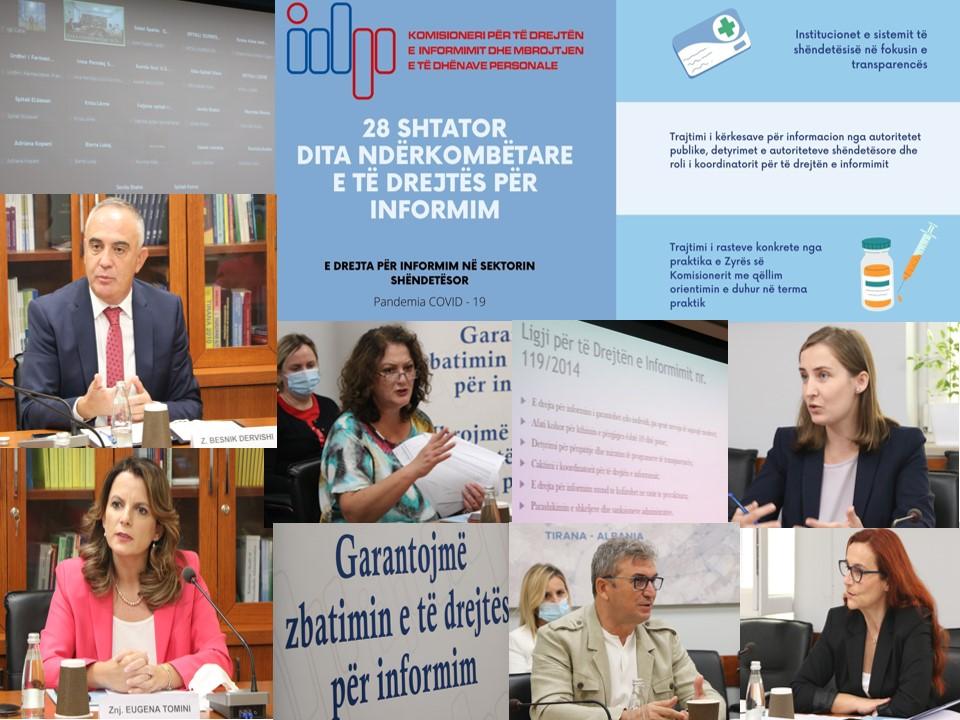 28 Shtator – Dita e të Drejtës për Informim, transparenca proaktive e Autoriteteve Publike të sektorit shëndetësor